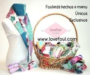 Tu foulard único y exclusivo. Hecho a mano en www.lovefoul.com
