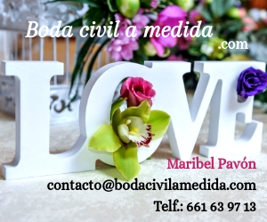 Boda civil a medida